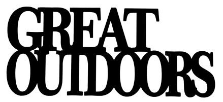 Great Outdoors Scrapbooking Laser Cut Title