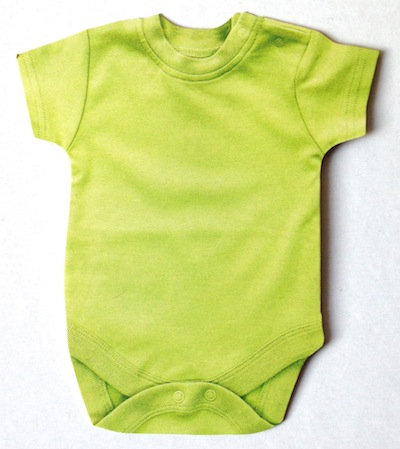 Green Baby Grow Scrapbooking Die Cut