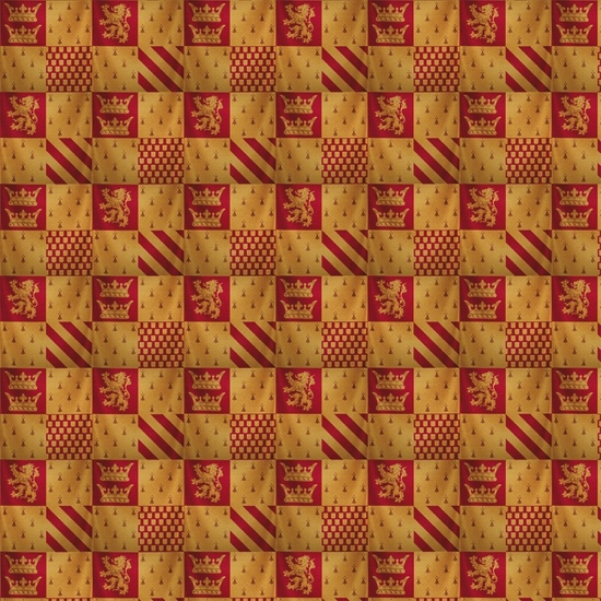 Gryffindor Harry Potter 12x12 Scrapbooking Paper