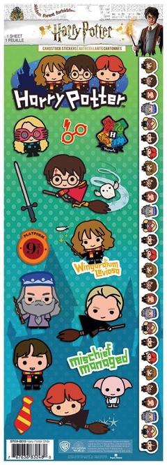 Harry Potter Cartoon Cardstock Scrapbooking Stickers