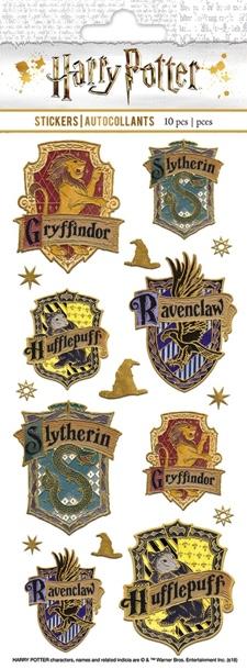 Harry Potter Shiny Faux Enamel Scrapbooking Stickers