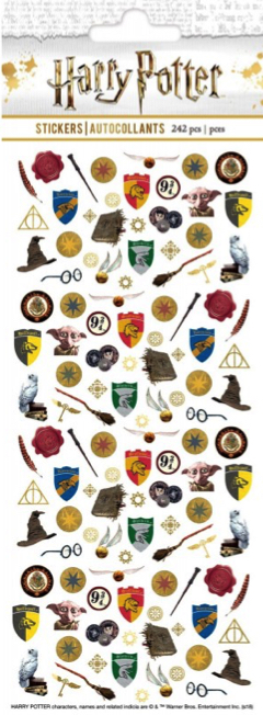 Harry Potter 242 Micro Scrapbooking Stickers