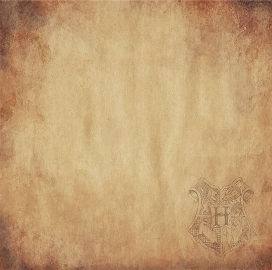 Harry Potter Wizard Crest 12x12 Scrapbooking Paper