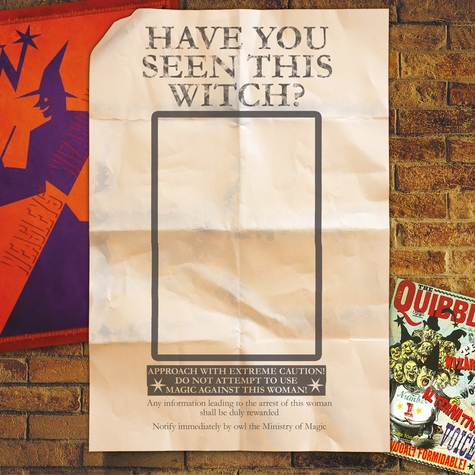 Harry Potter Have You Seen This Witch 12x12 Scrapbooking Paper