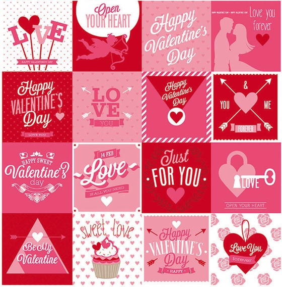 Heart and Soul 12x12 Cardstock Scrapbooking Stickers