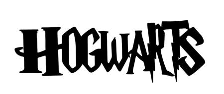 Hogwarts Scrapbooking Laser Cut Title