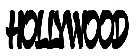 Hollywood Scrapbooking Laser Cut Title