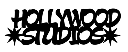 Hollywood Studios Scrapbooking Laser Cut Title with Stars