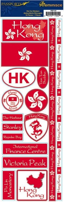 Hong Kong Cardstock Scrapbooking Stickers and Borders