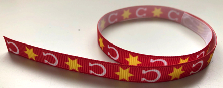 Horseshoe Cowboy Scrapbooking Ribbon