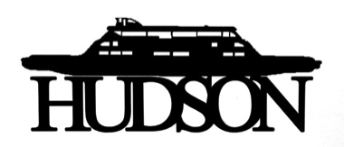 Hudson Scrapbooking Laser Cut Title with Boat