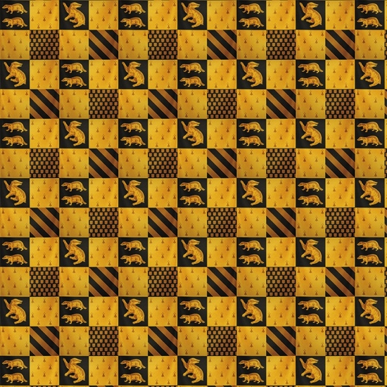 Hufflepuff Harry Potter 12x12 Scrapbooking Paper