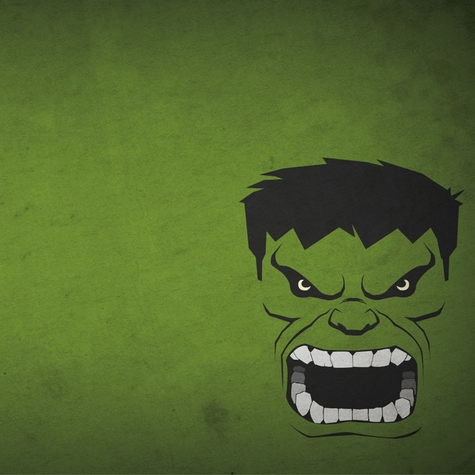 Hulk 12x12 Scrapbooking Paper