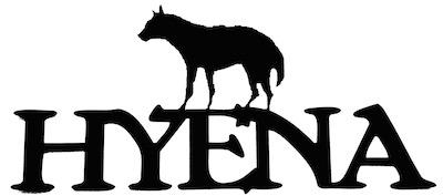 Hyena Scrapbooking Laser Cut Title with Hyena
