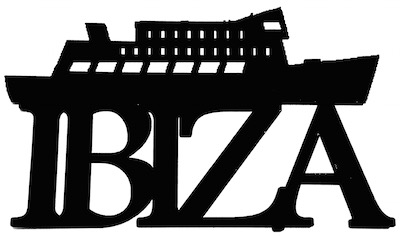Ibiza Scrapbooking Laser Cut Title with Boat