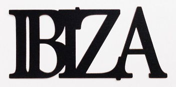 Ibiza Scrapbooking Laser Cut Title