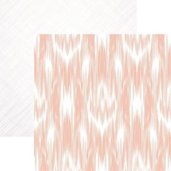 Ikat Tribal Art 12x12 double sided Scrapbooking Paper
