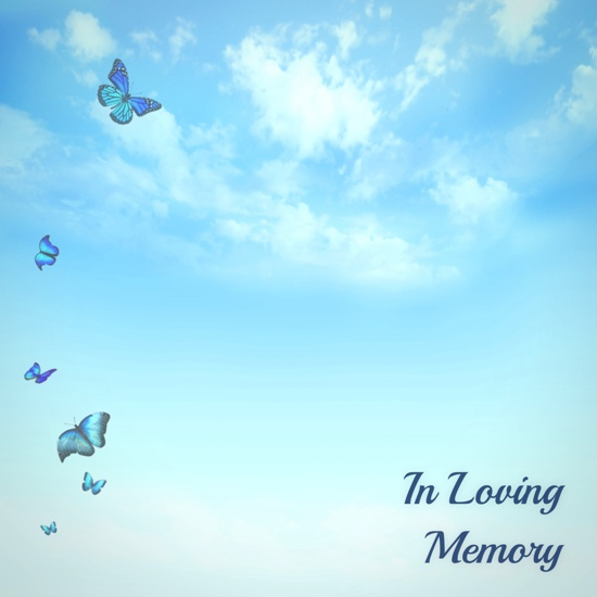 In Loving Memory 12x12 Scrapbooking Paper