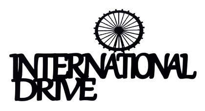 International Drive Scrapbooking Laser Cut Title with Wheel