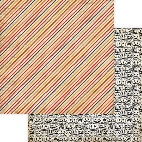 Jack Double Sided 12x12 Scrapbooking Paper