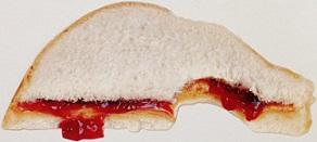 Jam Sandwich Scraobooking Die Cut