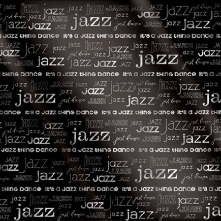 Jazz 12x12 Scrapbooking Paper with Foil