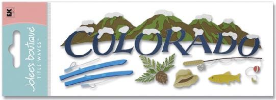 Colorado Jolees 3D Scrapbooking Title