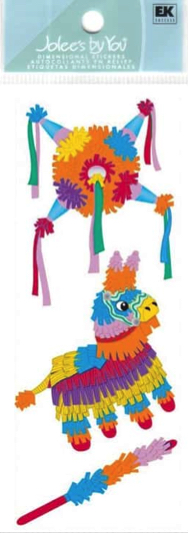 Piñata Jolees by You 3D Scrapbooking Stickers