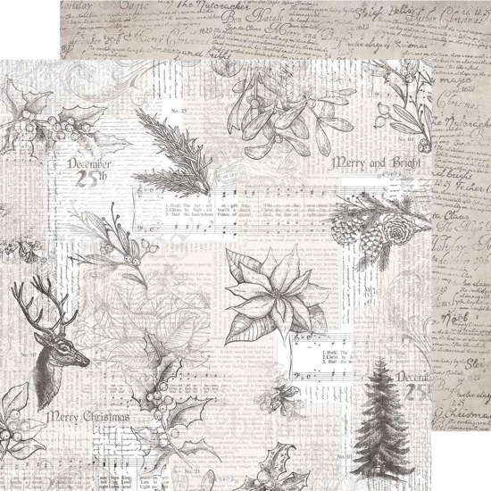Jovial 12x12 Double Sided Scrapbooking Paper