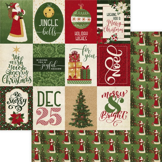 Joyful Season 12x12 Double Sided Scrapbooking Paper
