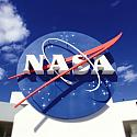 NASA Sign 12x12 Scrapbooking Paper