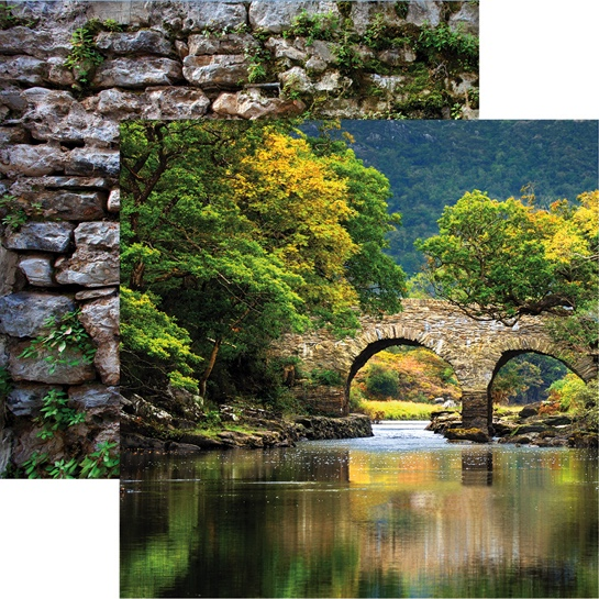 Killarney National Park 12x12 Double Sided Scrapbooking Paper
