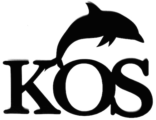 Kos Scrapbooking Laser Cut Title with Dolphin