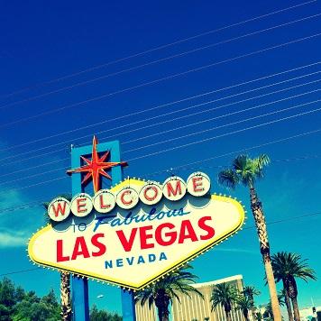 Las Vegas Sign 12x12 Scrapbooking Paper