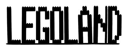 Legoland Scrapbooking Laser Cut Title