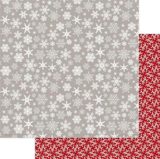 Let it Snow Double Sided 12x12 Scrapbooking Paper