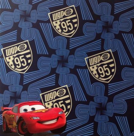 Lightning McQueen Cars 12x12 Scrapbooking Paper
