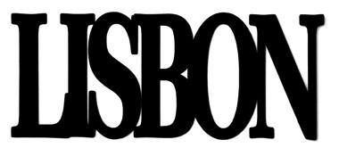 Lisbon Scrapbooking Laser Cut Title