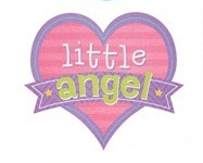 Little Angel Die Cut Scrapbooking Sticker