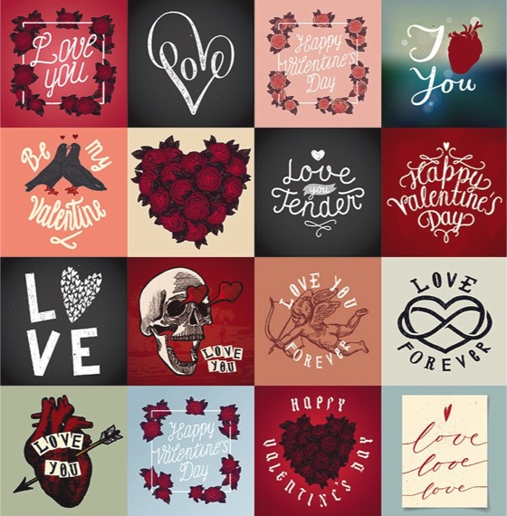 Love Forever 12x12 Cardstock Scrapbooking Stickers