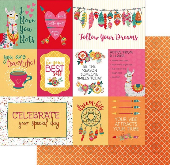Love Life 12x12 Double Sided Scrapbooking Paper