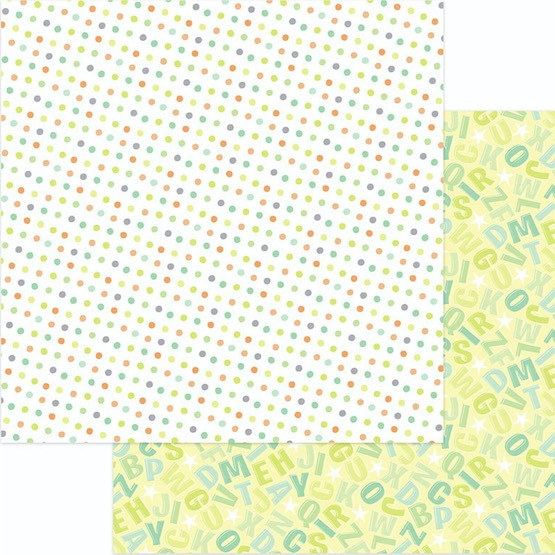 Lullaby 12x12 Double Sided Scrapbooking Paper