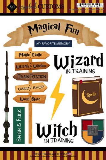 Magical Fun Scrapbooking Stickers
