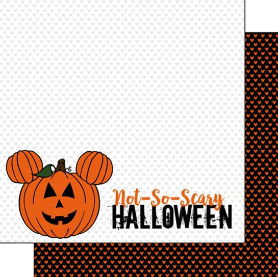 Magical Halloween 12x12 Double Sided Scrapbooking Paper