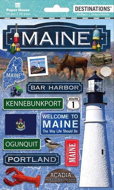 Maine Scrapbooking