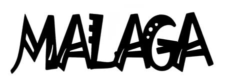 Malaga Scrapbooking Laser Cut Title