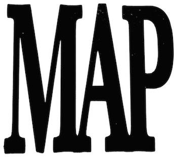 Map Scrapbooking Laser Cut Title