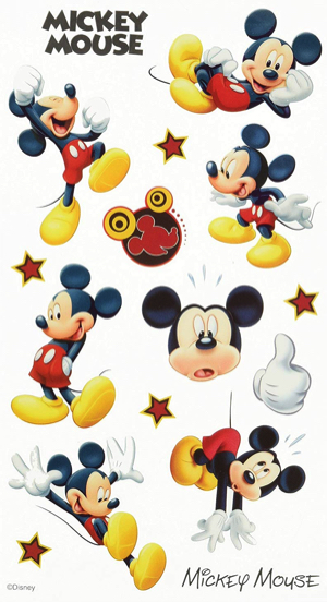 Mickey Mouse Disney Scrapbooking Stickers