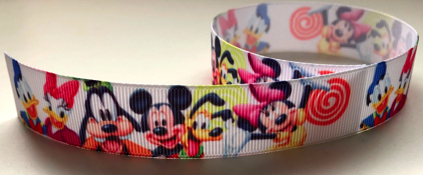 Mickey and Friends Scrapbooking Ribbon