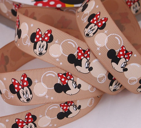 Minnie Mouse Scrapbooking Ribbon